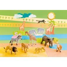 """Dzīvnieku figūras """"Eksotiskie dzīvnieki"""""""