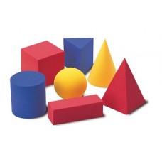EVA putu materiāla ģeometriskās figūras (12 gb.)