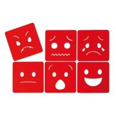 Emociju trafareti (6 gb.)