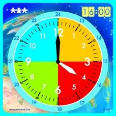 Magnētiskais pulkstenis (50 x 50 cm)