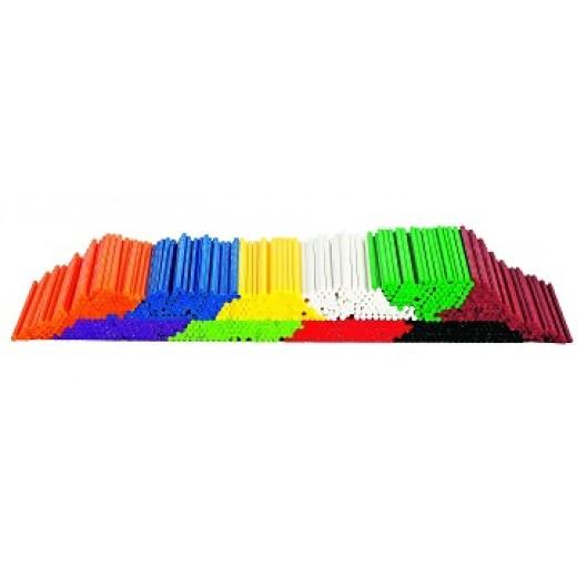 Krāsaini kociņi skaitīšanai (1000 gb.) - Skaitīkļi, skaitīšanas materiāls, klasifikācija