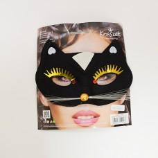 "Acu maska ""Melnais kaķis"""