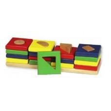"""Rotaļlieta """"Krāsas un formas"""""""