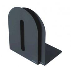 Grāmatu balsts, melns (H15cm, 2gb. komplekts)