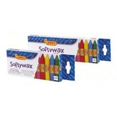 """Mīkstie vaska krītiņi """"930 SOFTY WAX"""" (10 krāsas)"""